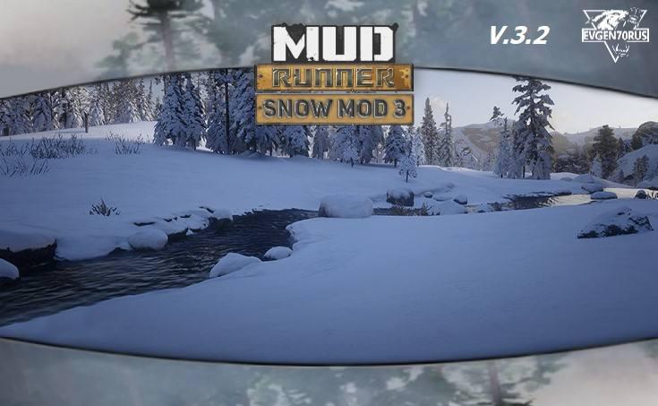 MudRunner Snow Mod