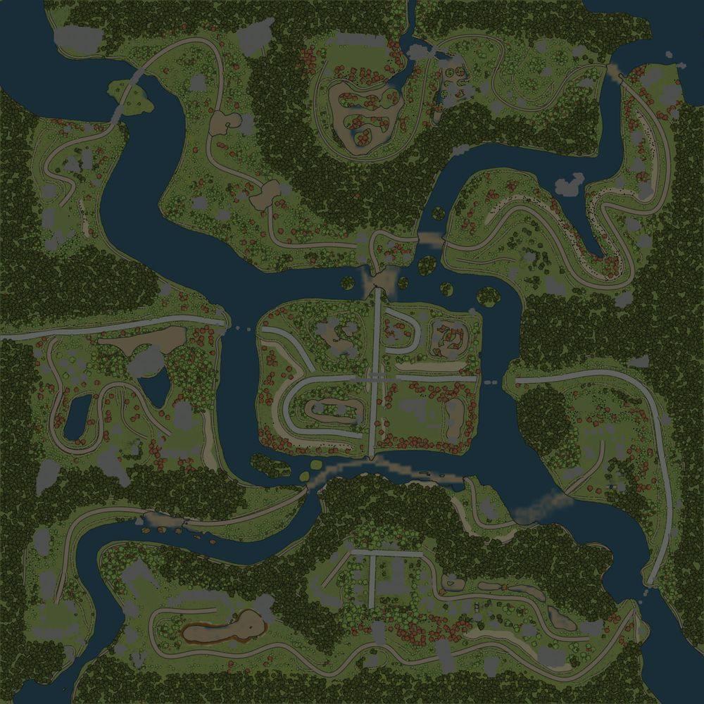 Карта «Грибной край»