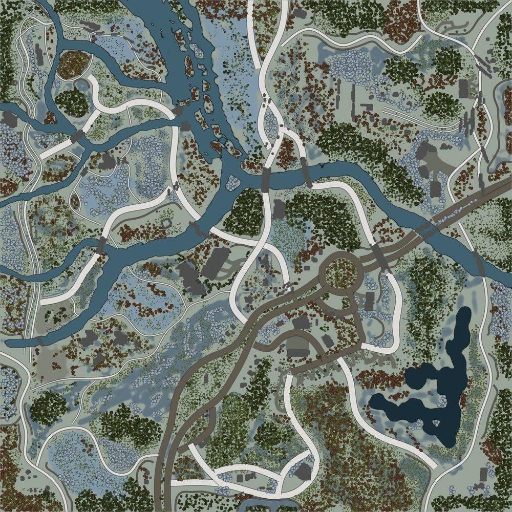 Карта «Січень»