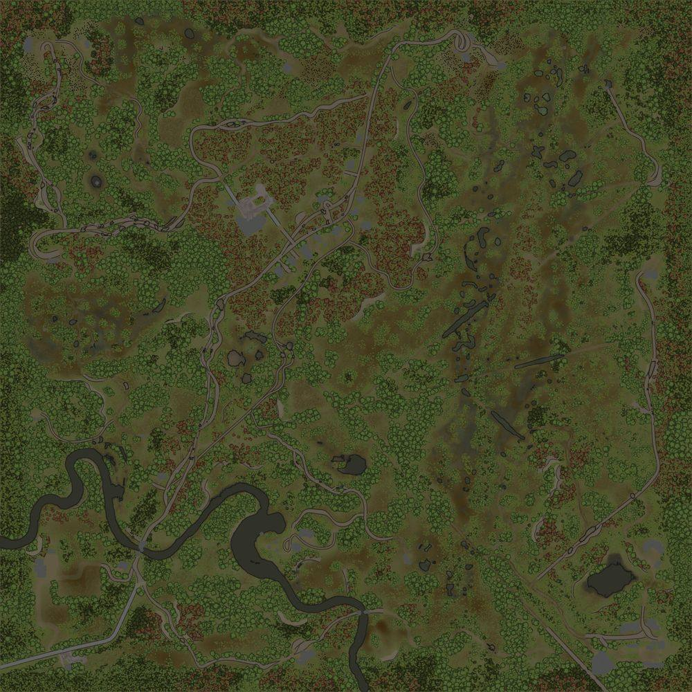 Карта «Рязанские болота»