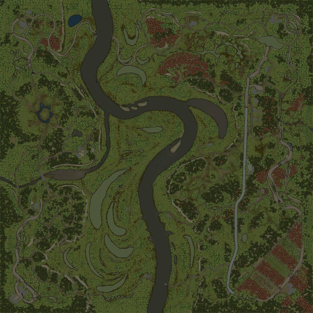 Карта «Пойма»