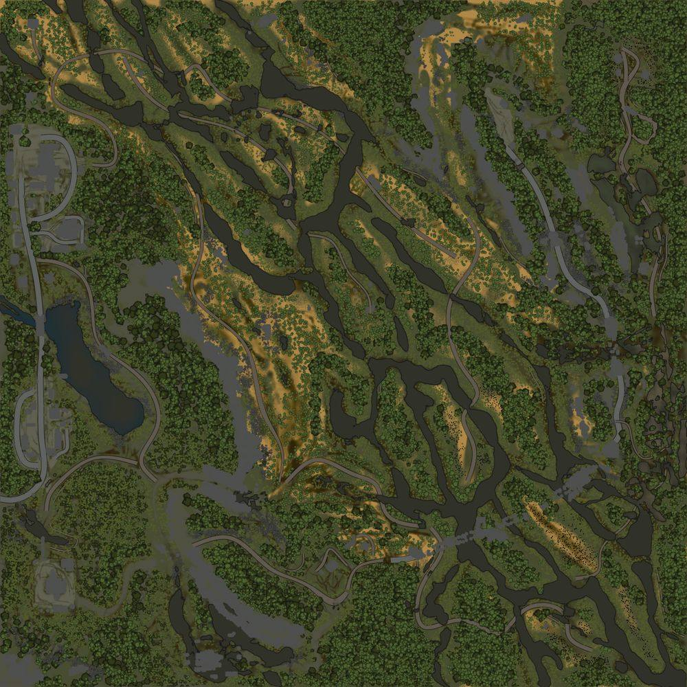 Карта «Долина Иствуда»