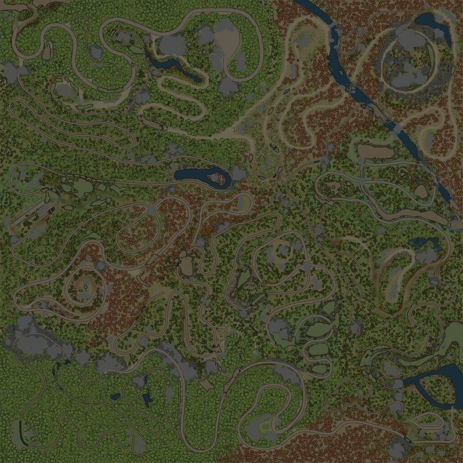 Карта «Jeseniky Scavenge»