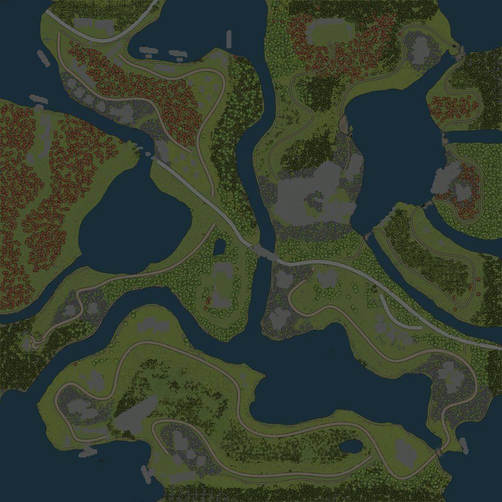 Карта «Забытая природа»