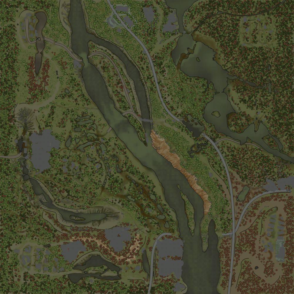 Карта «Река Тура»
