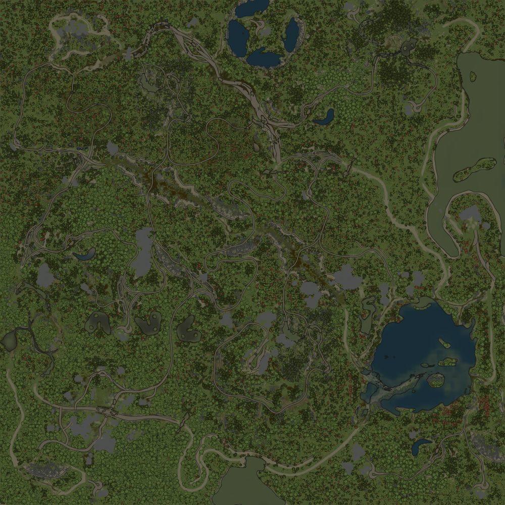 Карта «Roklina»