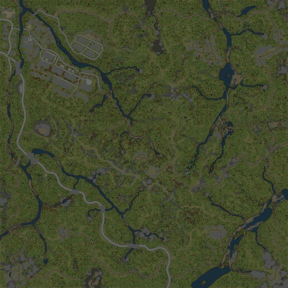 Карта «Тында-9 Hard»