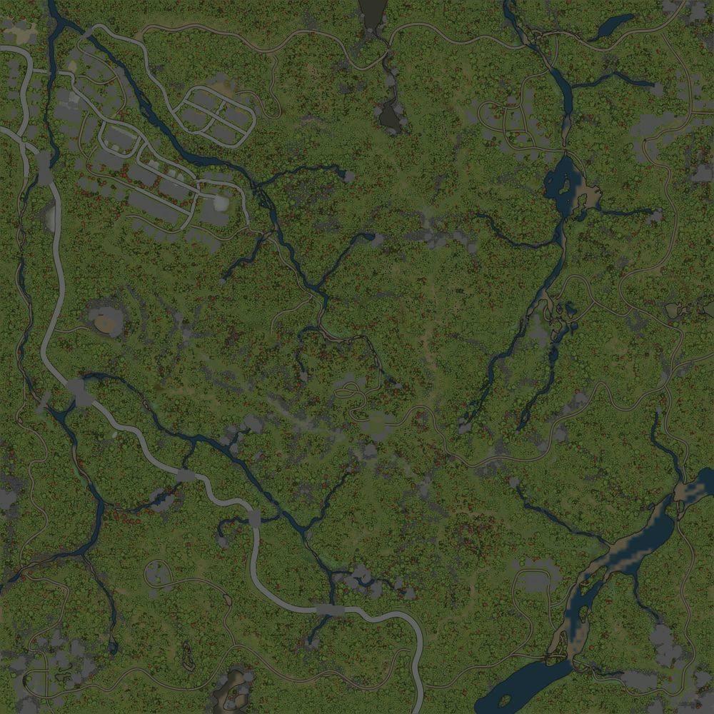 Карта «Тында-9 Шахтаум (lite version)»