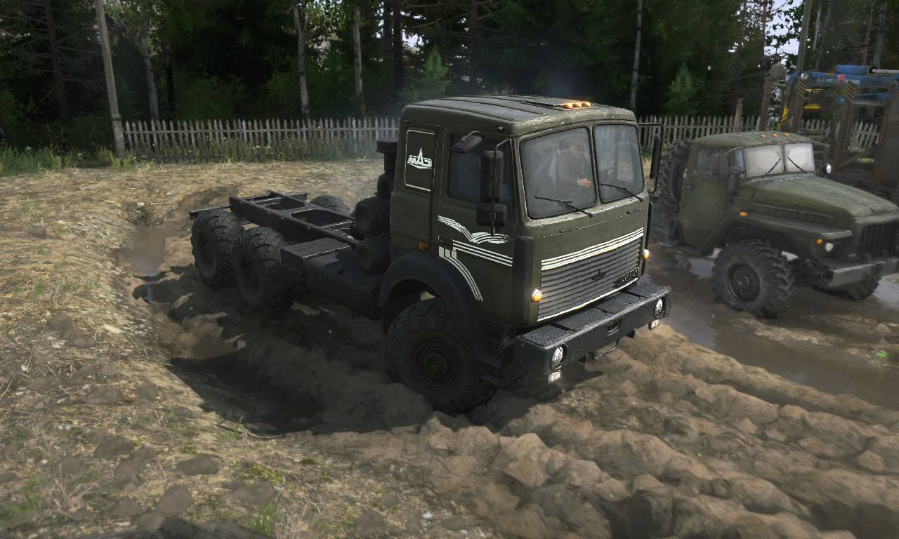 Текстура для МАЗ-6317