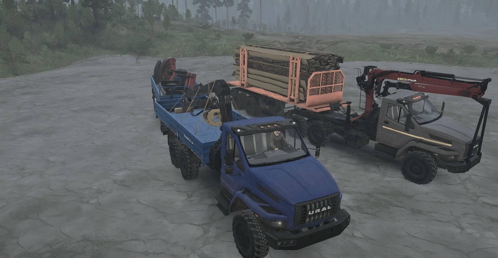 Ural Next база 6155