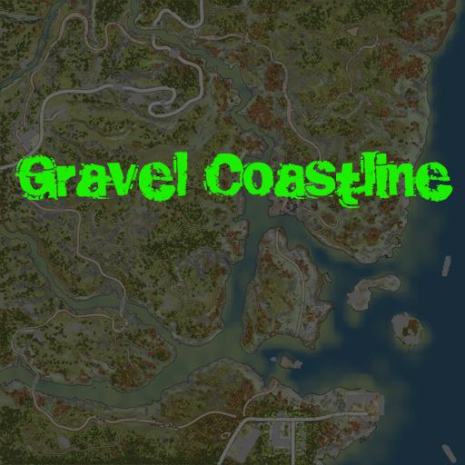 Карта «Gravel Coastline»