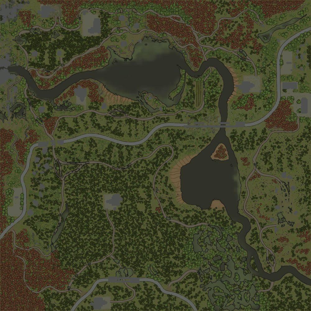 Карта «Осенний туман»