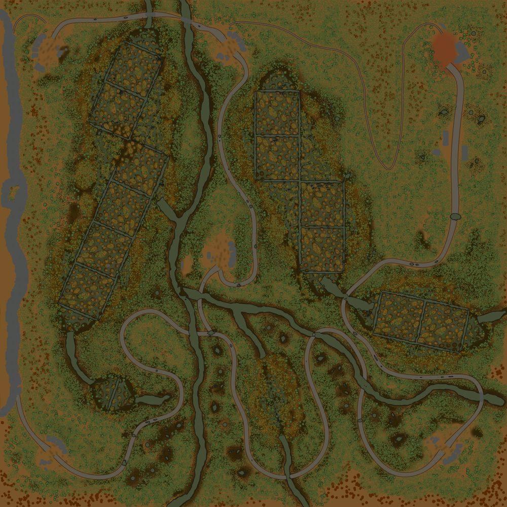 Карта «Осень 2»