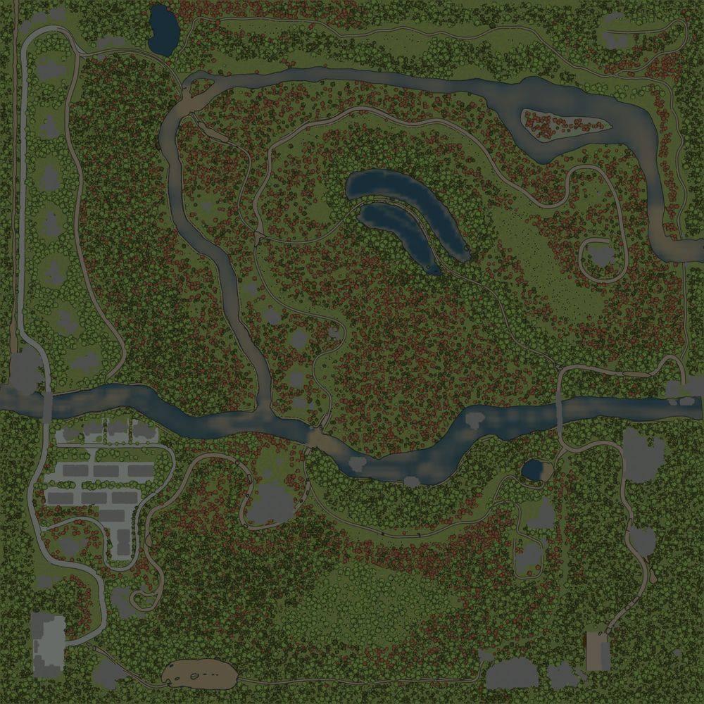 Карта «Камянка»
