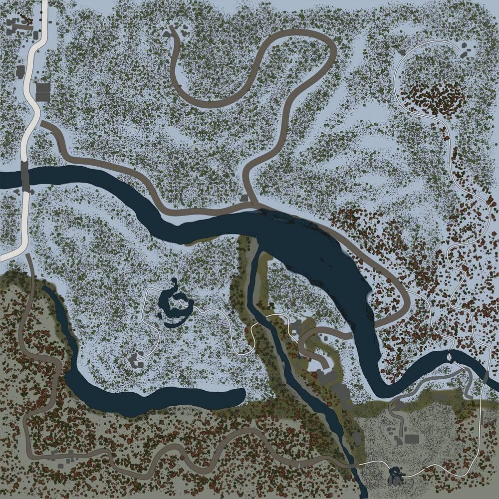 Карта «Оттепель»