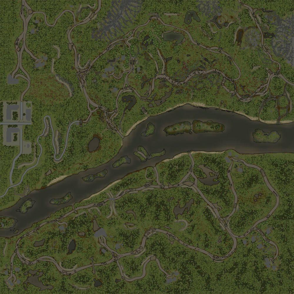 Карта «Река Ингул»