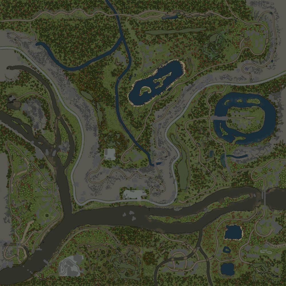 Карта «Уральские Делянки 3»