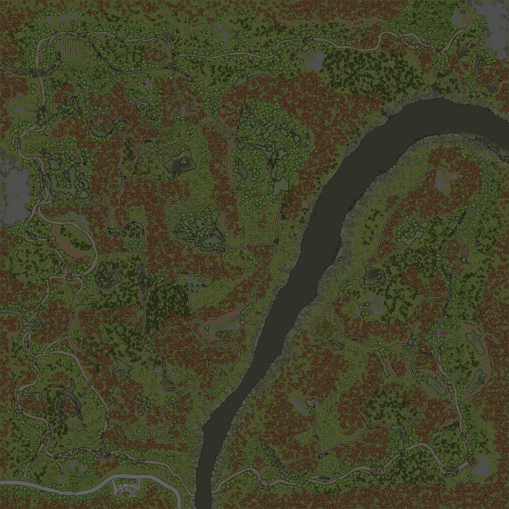 Карта «Осений Лес / Весенний Лес»