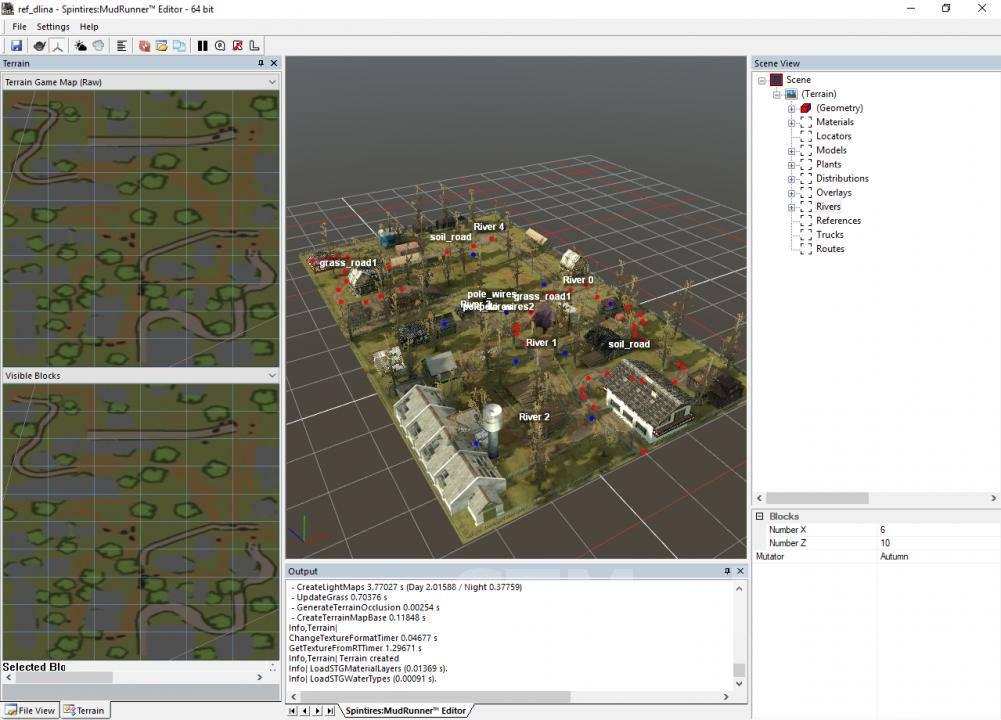 Рефы карты «Expanses of Villages 2»