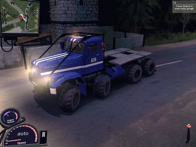КрАЗ 8x8 Триал