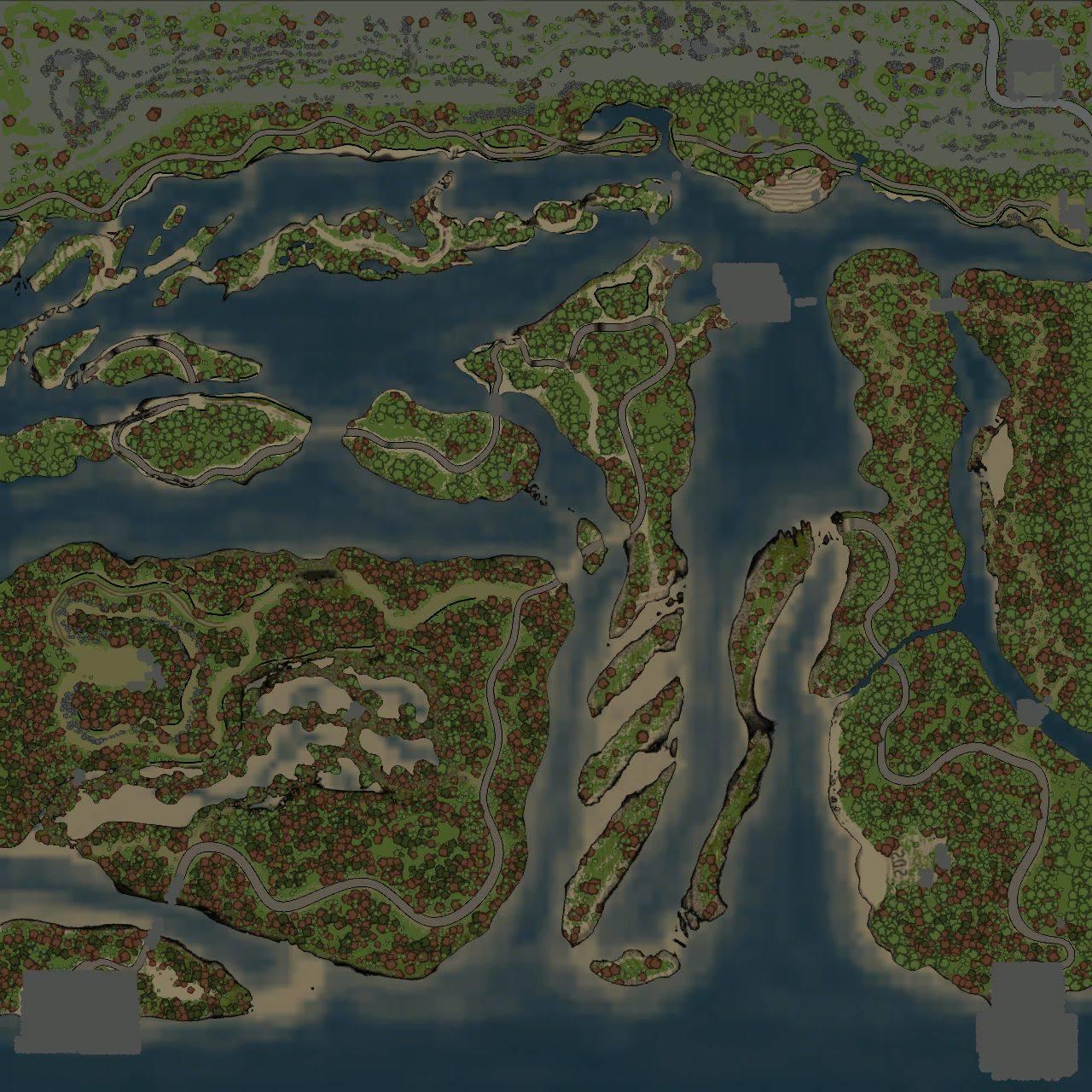 Карта «Сила реки»