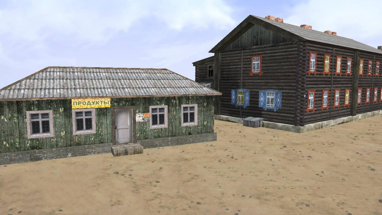 Бараки с карты «Поселок»