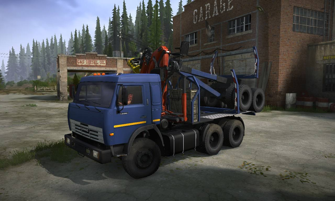 Аддоны для КамАЗ-54115