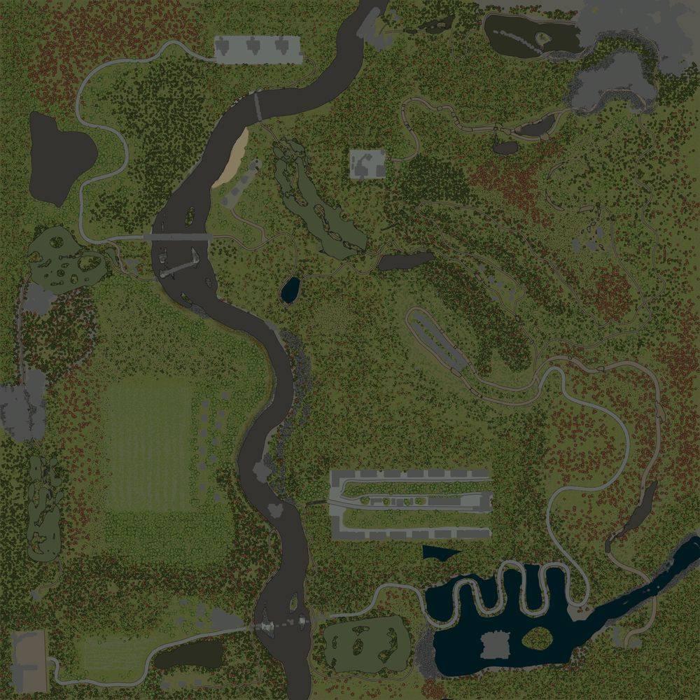 Карта «Лес»