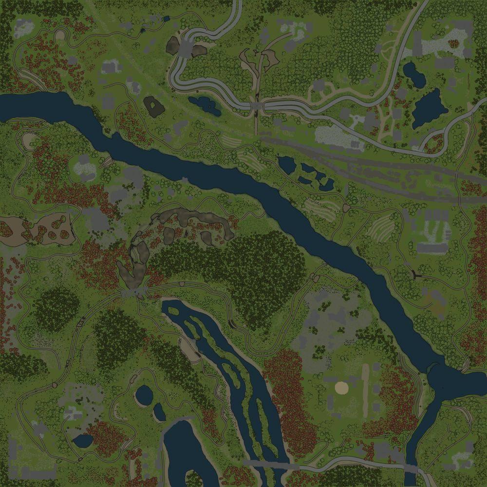 Карта «Глыбока»