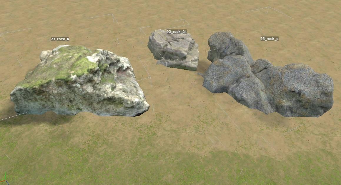 Объекты: Камни 03