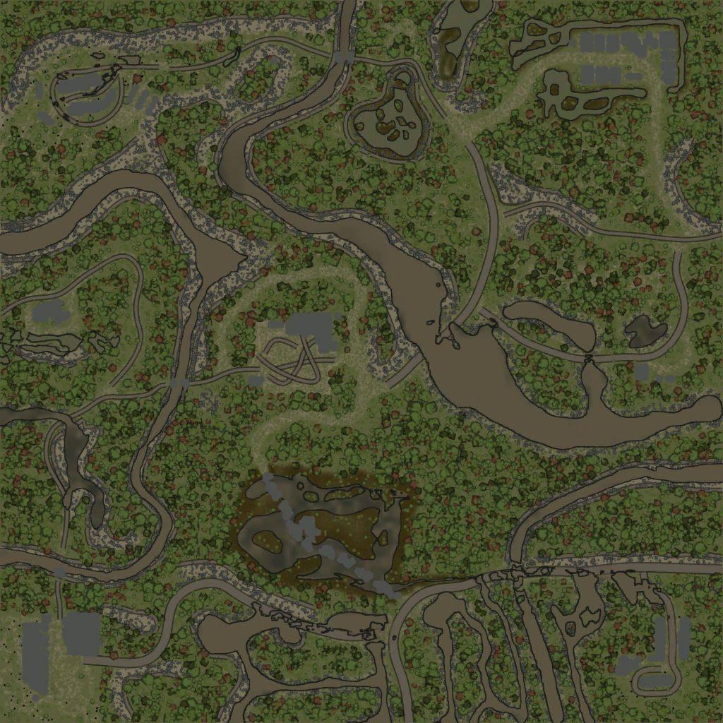 Карта «Level 68»