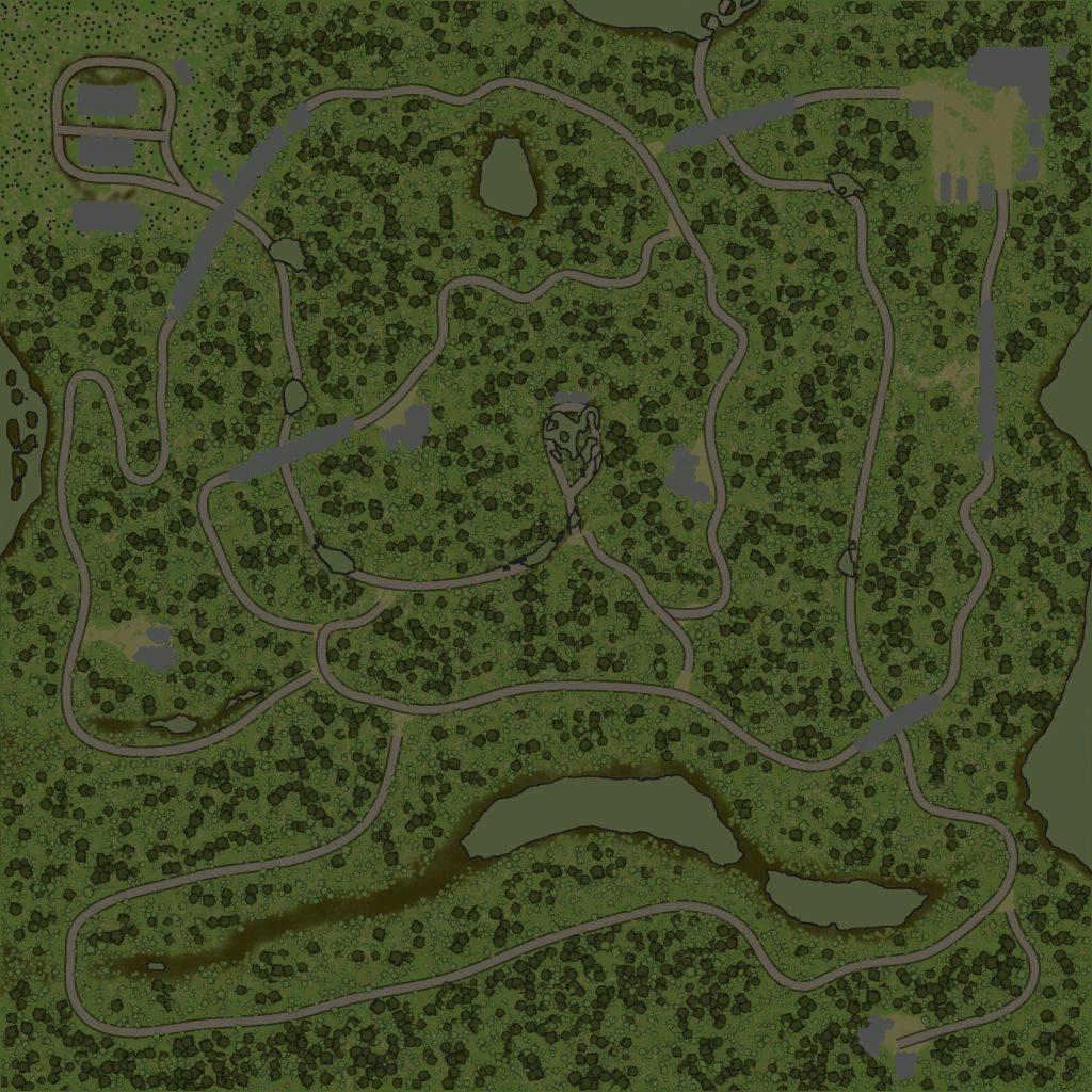 Карта «Maps Level 80»