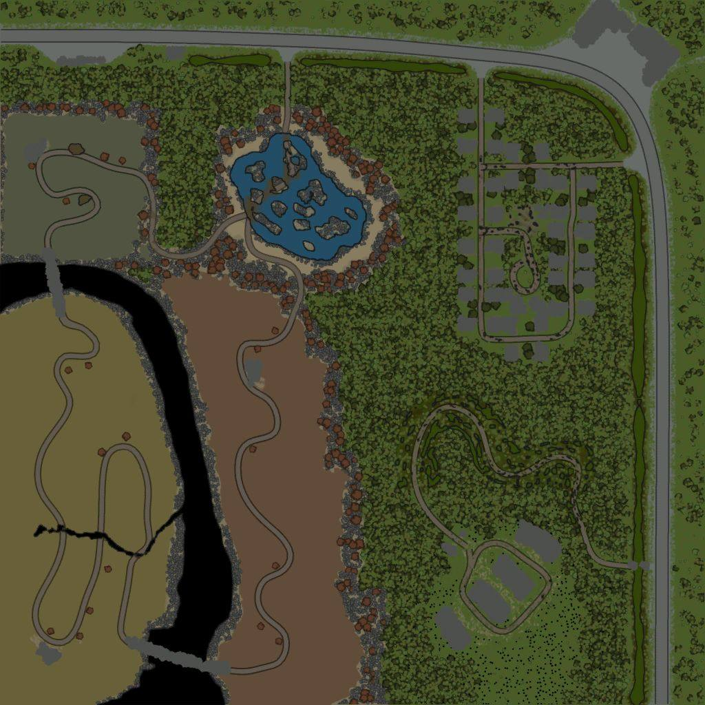 Карта «Maps Level 81 / Tree Mountains»
