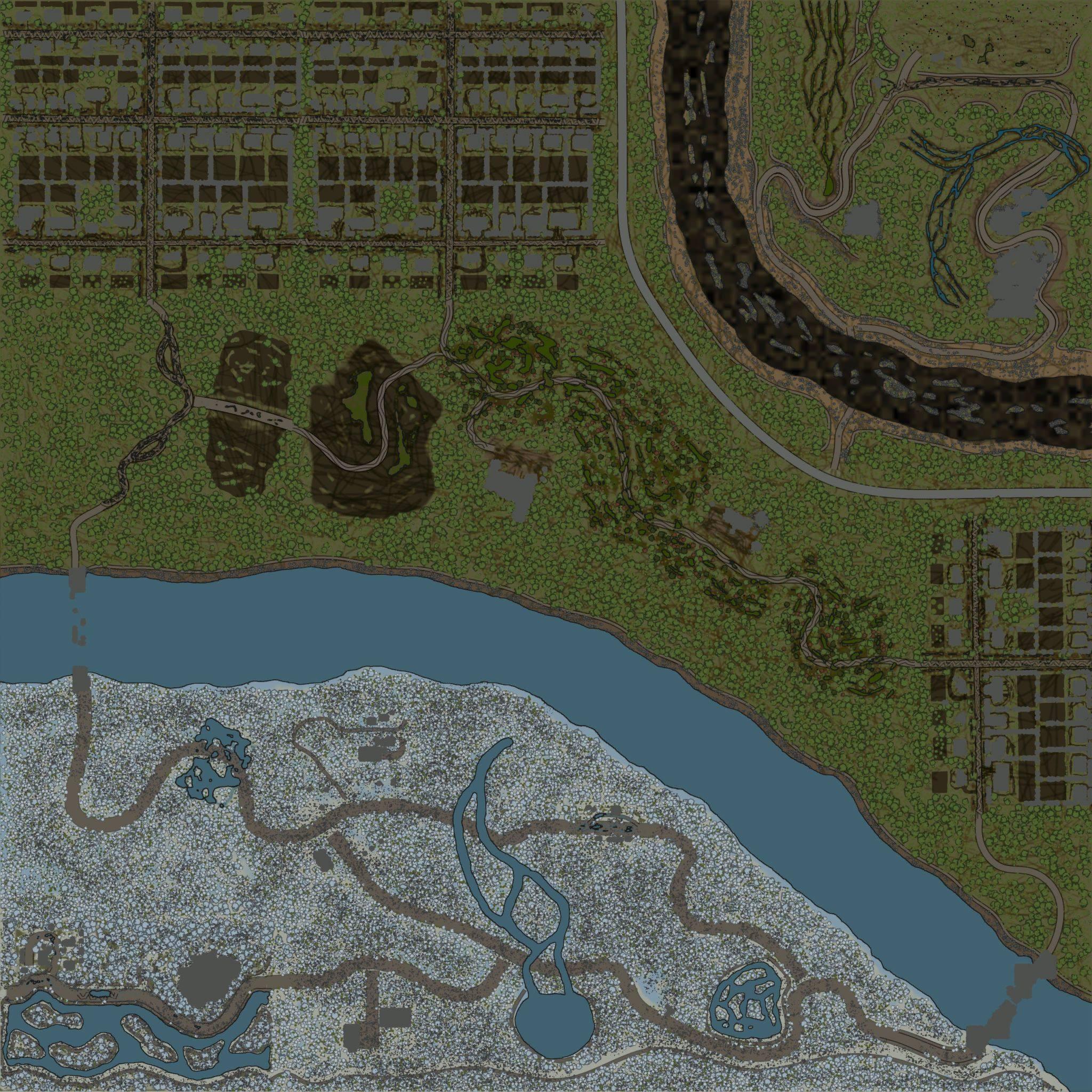 Карта «Maps Level 90 / No Brake»