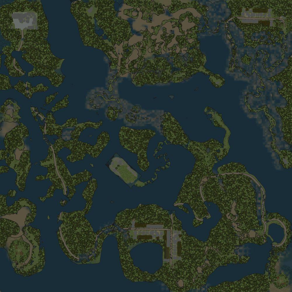 Карта «Затопленный лес 2»