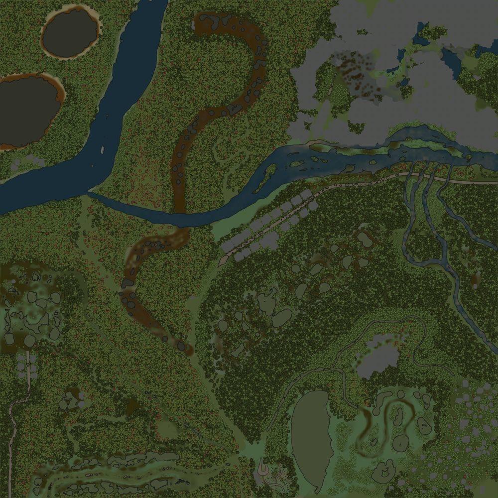 Карта «Забытая земля 2»