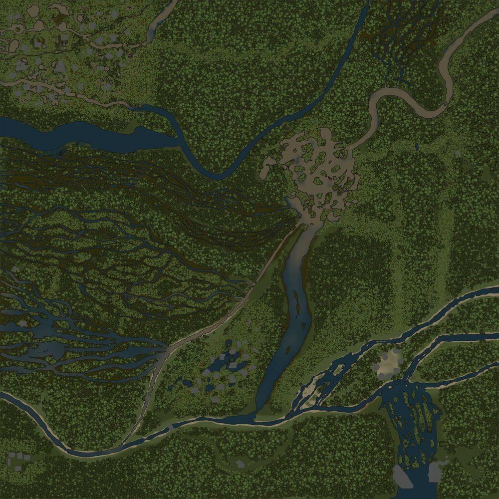 Карта «Забытая земля»