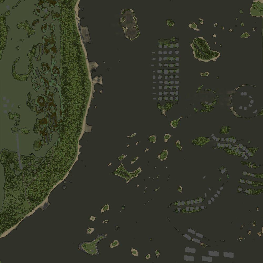 Карта «Великий потоп»