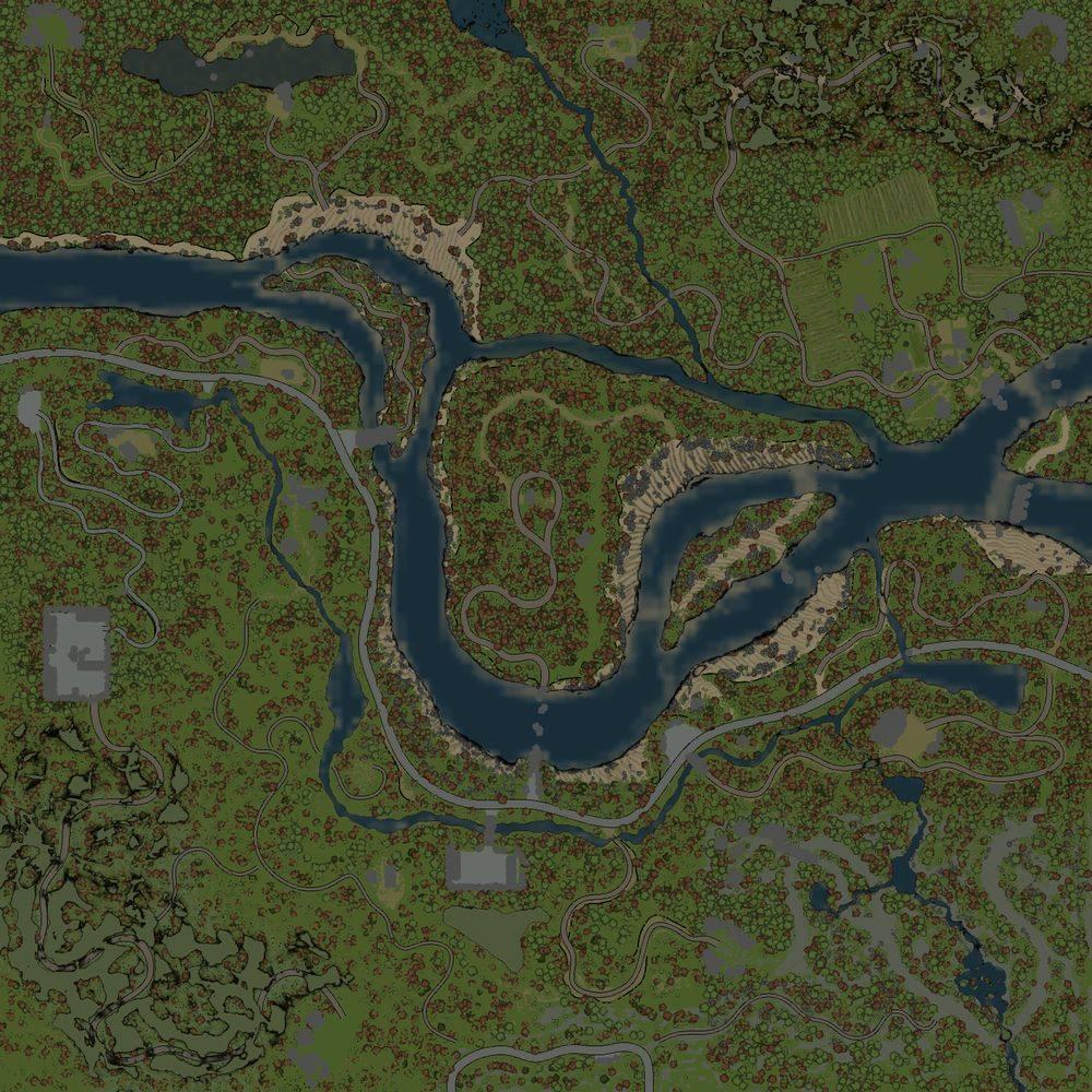 Карта «Катуньский излом»