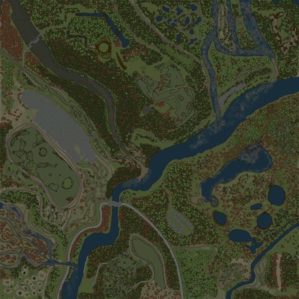 Карта «Затерянная цивилизация»