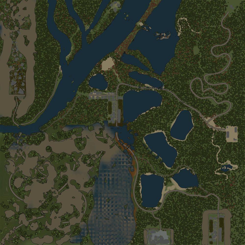 Карта «Пропавшая автоколонна»