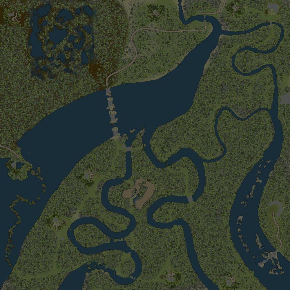 Карта «Речной край»