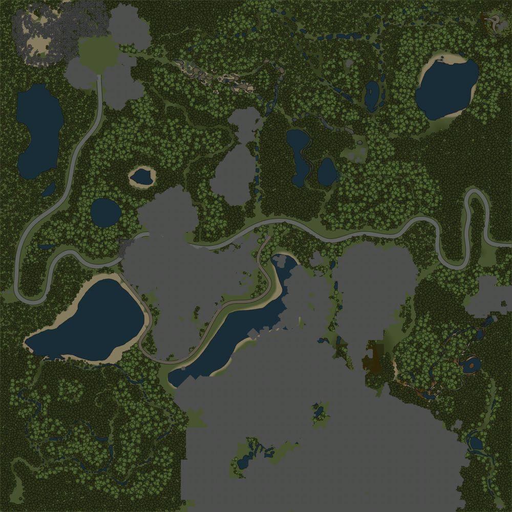Карта «Простая карта»