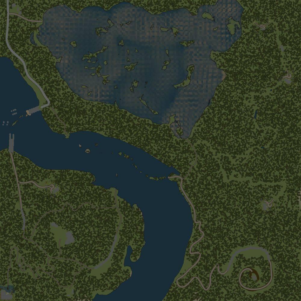 Карта «Змеиные дороги»