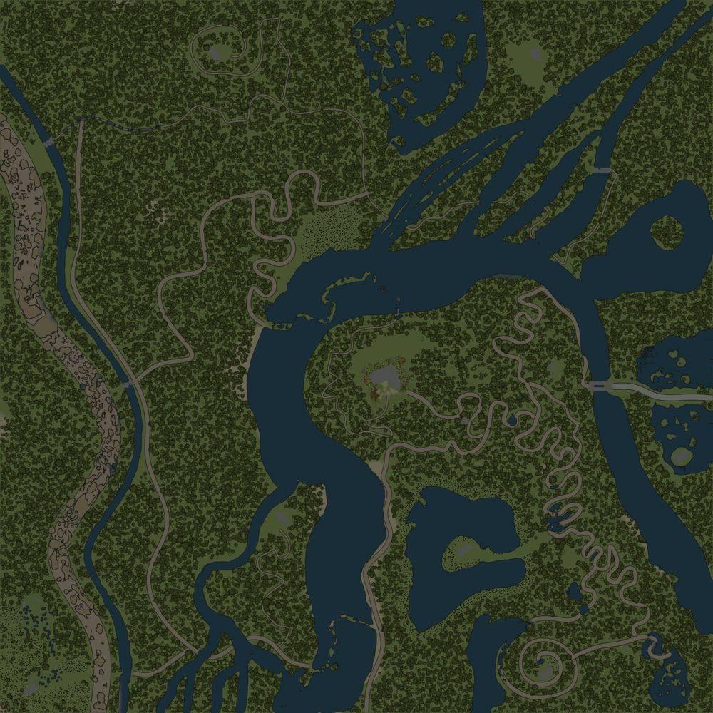 Карта «Змеиные дороги 3»