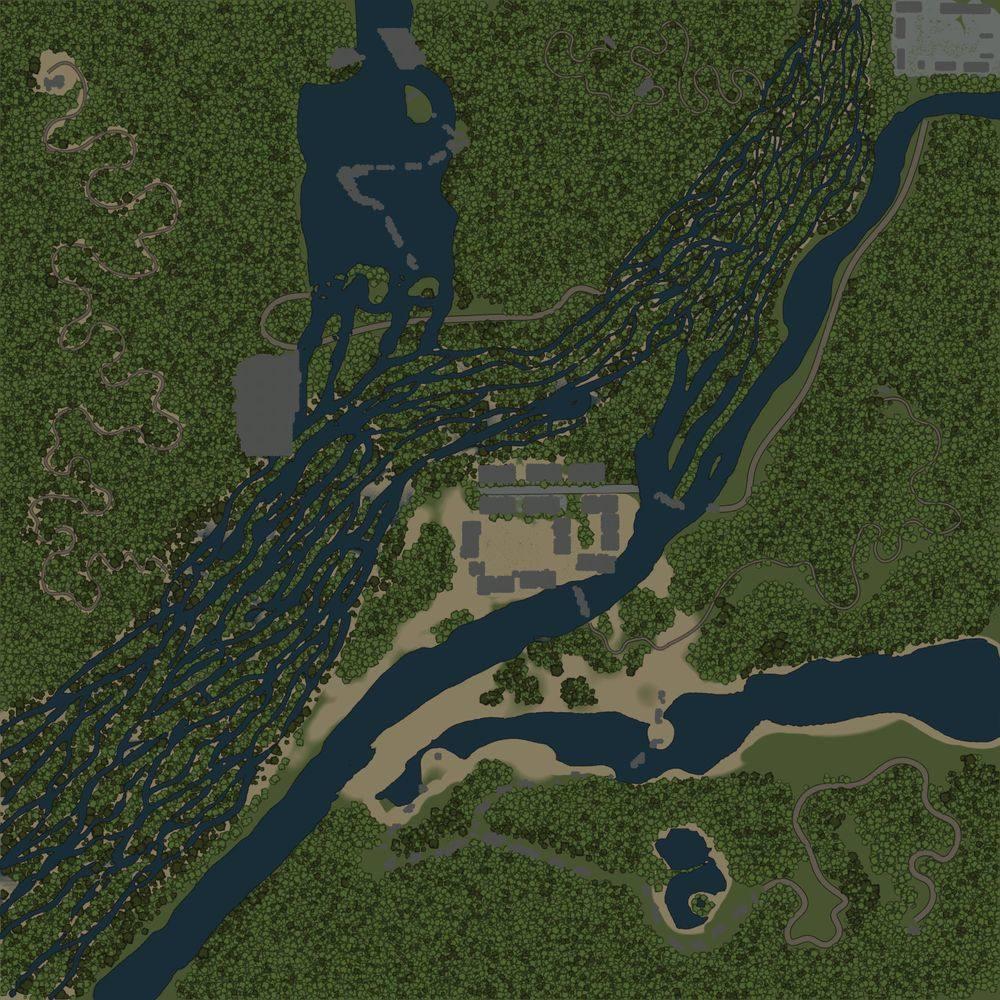 Карта «Змеиные дороги 6»