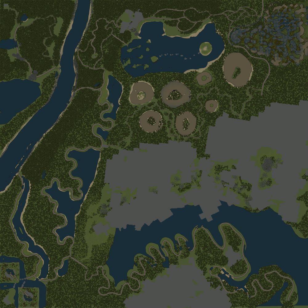 Карта «Змеиные дороги 7»