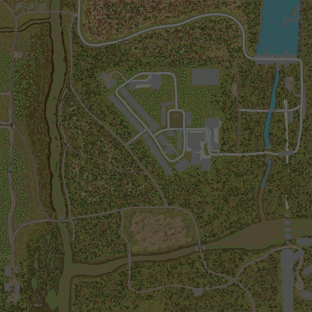 Карта «Maps Somewhere in Pripyat 2»