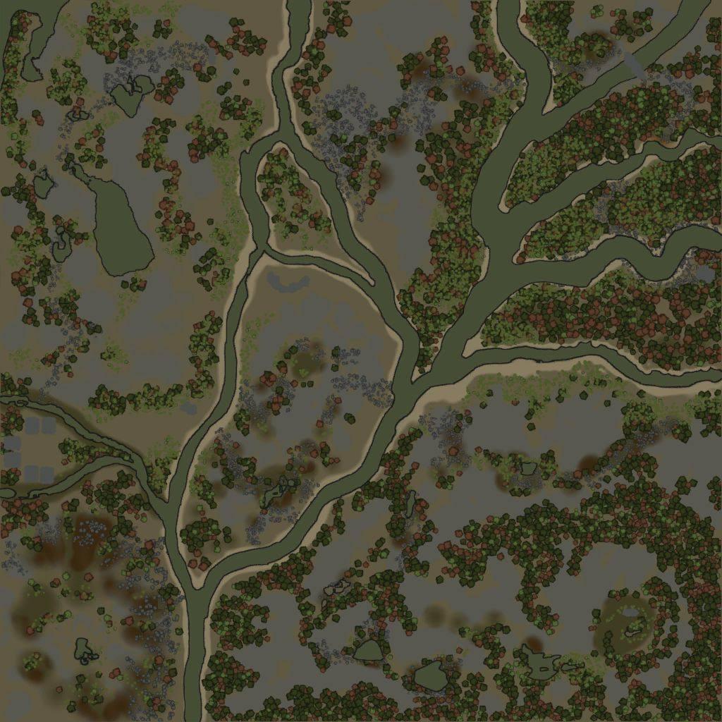 Карта «Каменный рай»