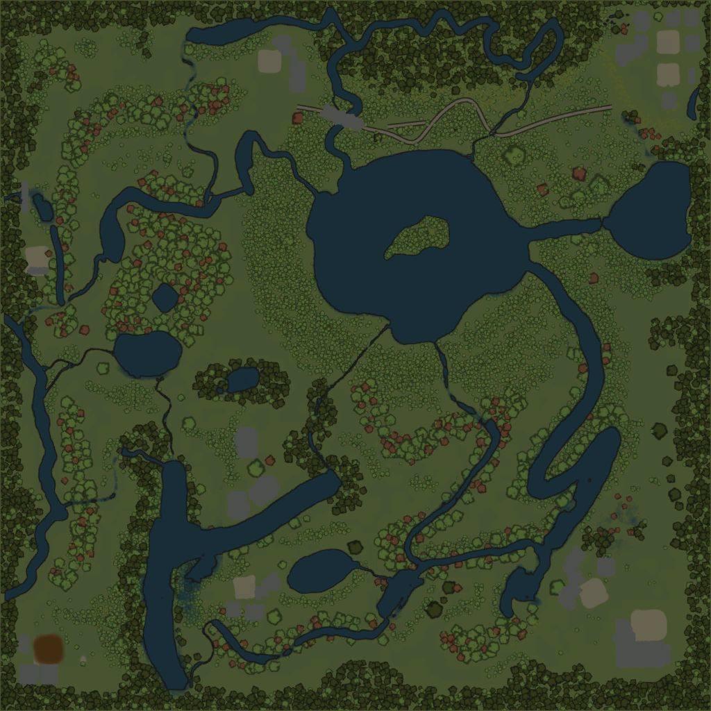 Карта «Болото Чекульган»